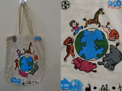 Canvas Tote Bag. 75,000 VND.